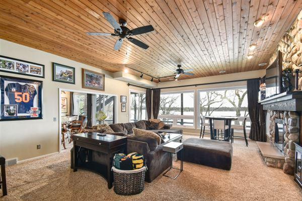 Luxury real estate Stunning Lake Beulah Luxury home