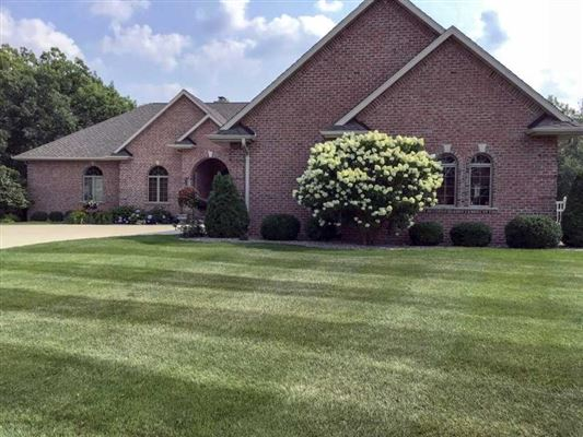 Mansions high quality custom home in a private setting