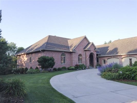 Mansions in high quality custom home in a private setting