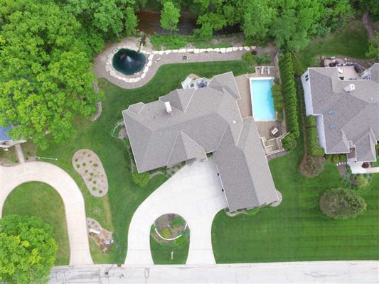 Luxury real estate high quality custom home in a private setting
