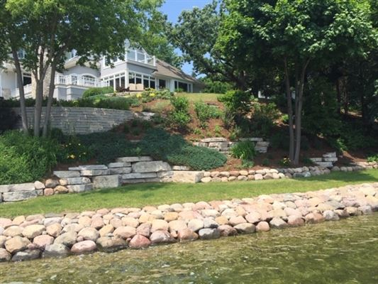 Mansions Lakefront living at its finest in summit