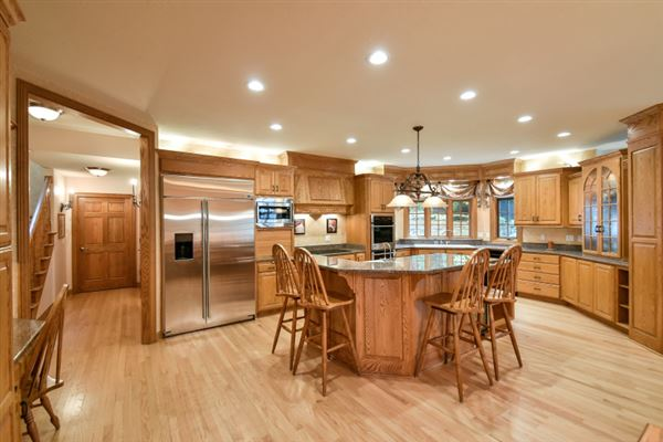 Luxury properties superbly crafted home in Brookfield