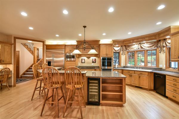 superbly crafted home in Brookfield mansions