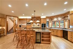 superbly crafted home in Brookfield luxury homes