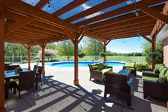 Impressive equestrian estate on over 35 rolling acres in the Town of Waterford luxury homes