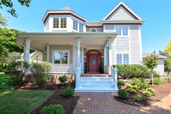 Luxury homes in beautiful custom built Victorian home