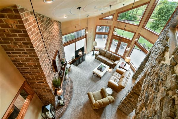 Luxury real estate exquisite custom home on almost 12 acres