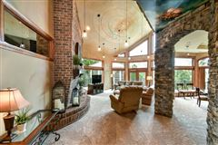 Luxury homes in exquisite custom home on almost 12 acres