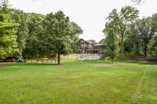 Mansions in exquisite custom home on almost 12 acres