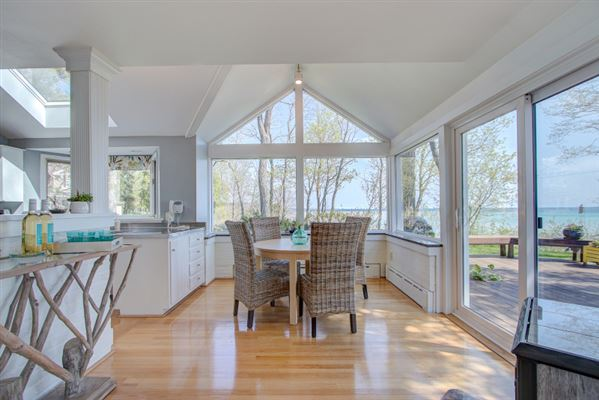 Spectacular Lake Michigan views from almost every room luxury real estate