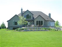 Luxury real estate custom built estate near the 14th green