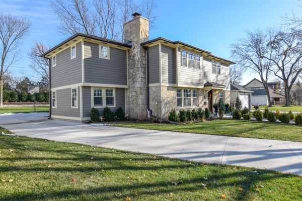 Luxury properties  dazzling home in whitefish bay
