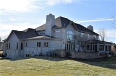 Luxury real estate stately manor on five private acres