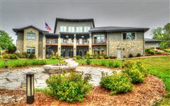 Mansions Elegant Custom Prairie Style home