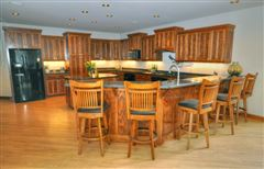 Elegant Custom Prairie Style home luxury properties