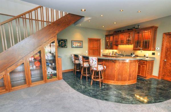 Luxury properties Elegant Custom Prairie Style home