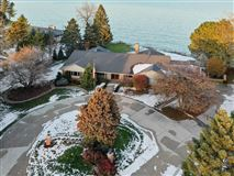 Luxury properties Beautiful views of Lake Michigan and the privacy of a cul-de-sac
