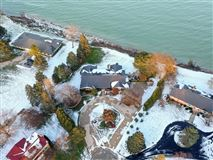 Beautiful views of Lake Michigan and the privacy of a cul-de-sac mansions