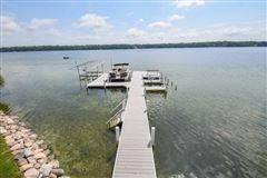 Luxury properties warm and inviting lake home