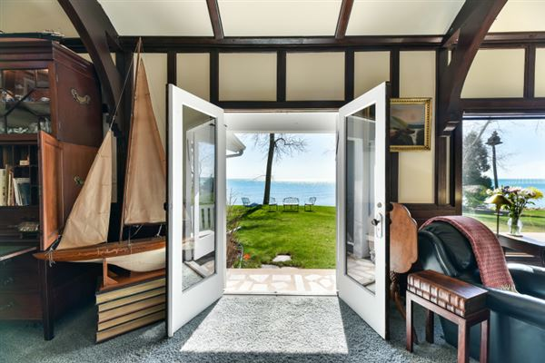 rare opportunity to own a piece of Lake Michigan shoreline luxury homes