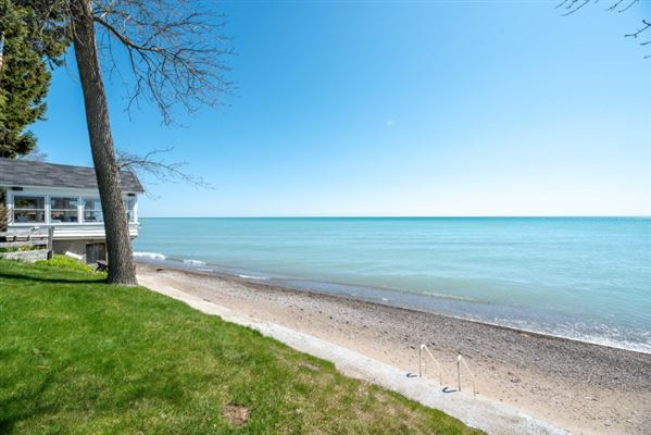 rare opportunity to own a piece of Lake Michigan shoreline luxury properties