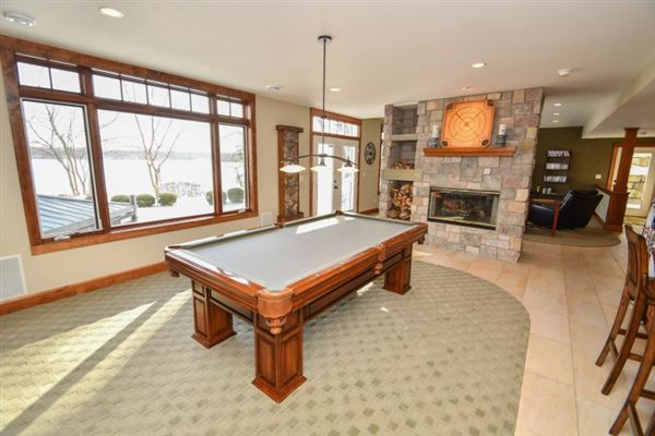 Lakefront living at its finest in summit mansions