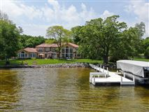 Luxury properties South Beach inspired home on Oconomowoc Lake