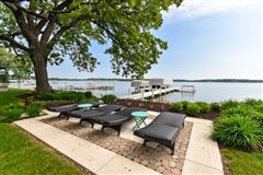 Mansions South Beach inspired home on Oconomowoc Lake