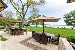 Mansions in South Beach inspired home on Oconomowoc Lake