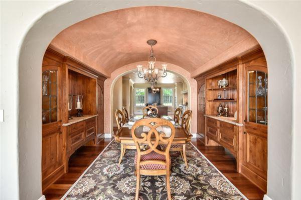 South Beach inspired home on Oconomowoc Lake luxury homes