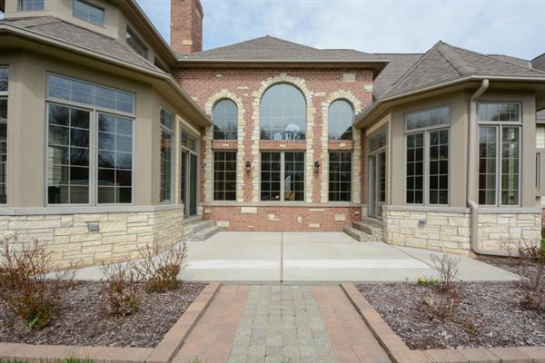Luxury homes in exceptional custom estate with incredibly detailed features