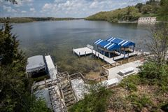 This year-round Lake Beulah home features incredible views on the lake  mansions