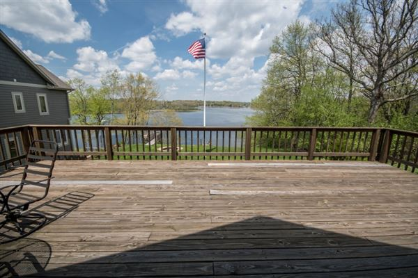 Mansions This year-round Lake Beulah home features incredible views on the lake
