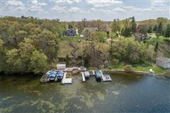 Luxury homes in This year-round Lake Beulah home features incredible views on the lake