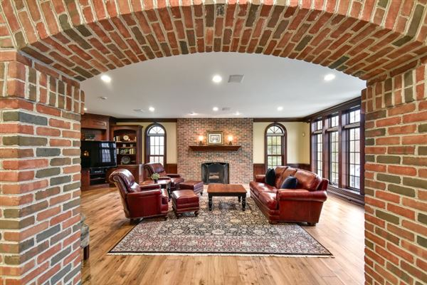 Luxury real estate stunning all brick estate