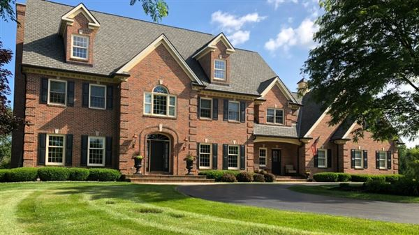 stunning all brick estate mansions
