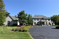 Luxury properties private wooded 5 acre colonial