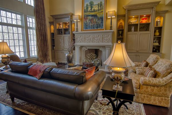 Luxury real estate private wooded 5 acre colonial