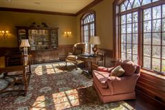 private wooded 5 acre colonial luxury real estate