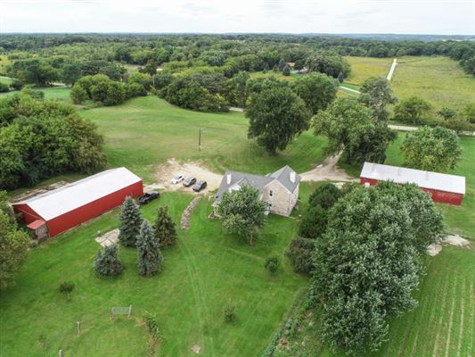 Luxury real estate a storybook hobby farm