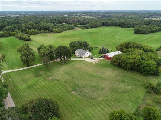 Luxury homes in a storybook hobby farm