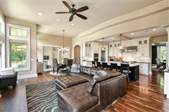 Luxury real estate spectacular custom home outfitted with every amenity