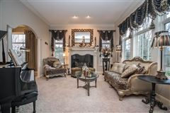 Mansions in meticulously maintained home