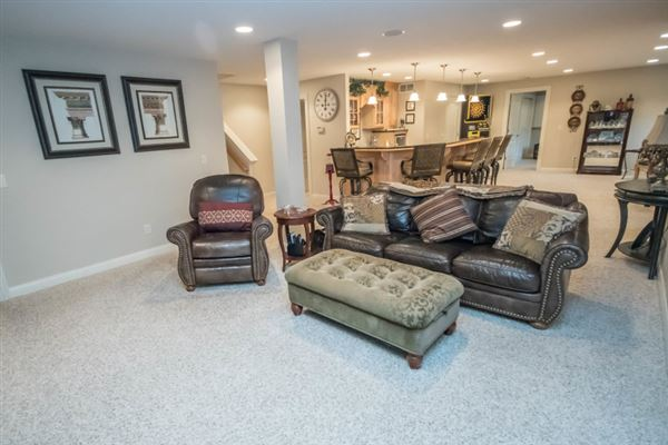 Luxury homes in meticulously maintained home