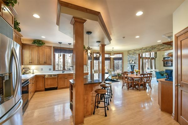 Luxury real estate custom estate in sought-after Stonegate