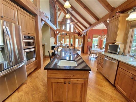 Mansions rare timber framed home