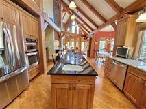 Luxury homes rare timber framed home