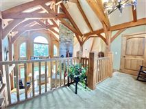 Luxury real estate rare timber framed home