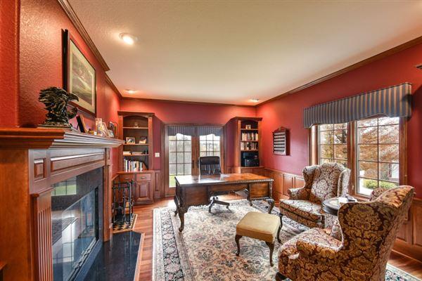 Luxury properties crisp classic brick colonial