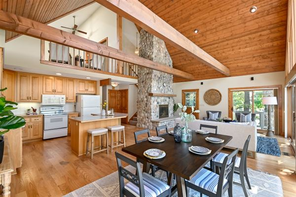 Iconic Lake Beulah peninsula luxury homes